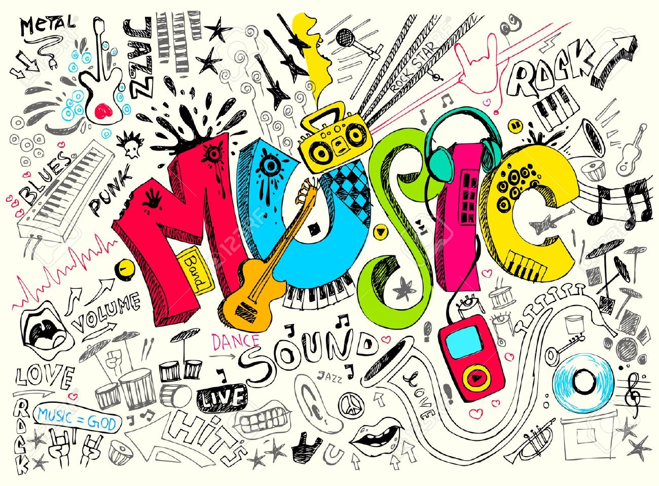 Dessin De Music my scatty life | fashion, lifestyle, bonnes adresses and co